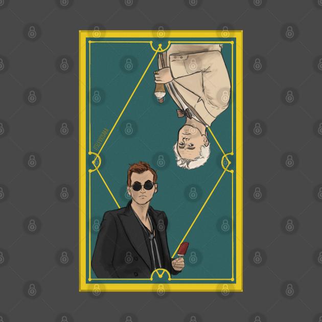 Ineffable Husbands Tarot Card version 2