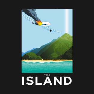 Visit The Island! t-shirts