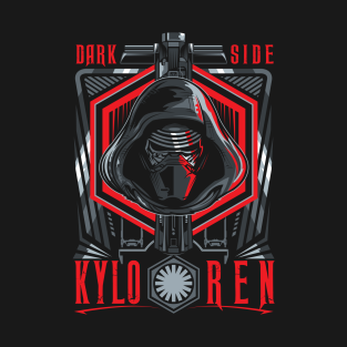 Finish what you started - Kylo Ren t-shirts