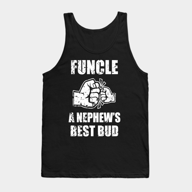 e8c3c552 Mens Funcle Definition a Nephew's Best Bud - Funny Uncle Shirt Tank Top