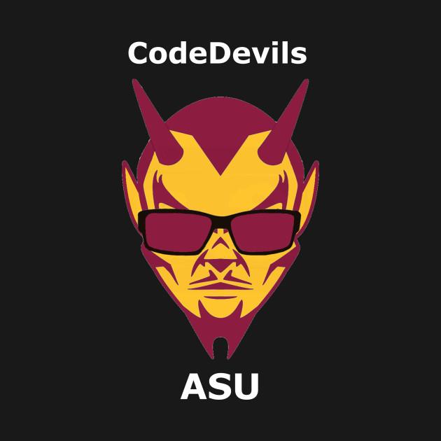 CodeDevils White Letter