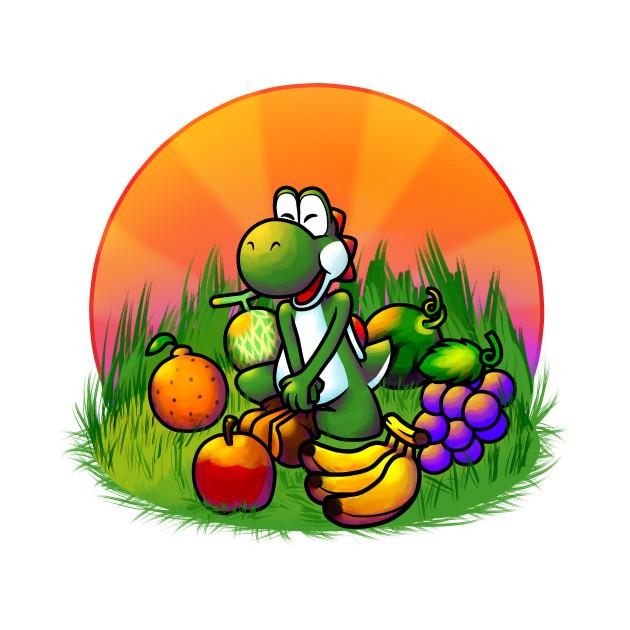 Island Fruit Feast (Green)