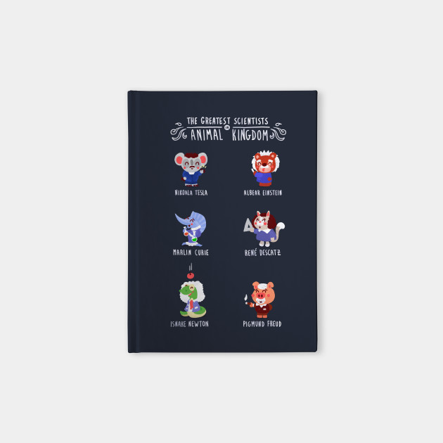 Image of: Laminated The Greatest Scientists In Animal Kingdom Teepublic The Greatest Scientists In Animal Kingdom Science Notebook