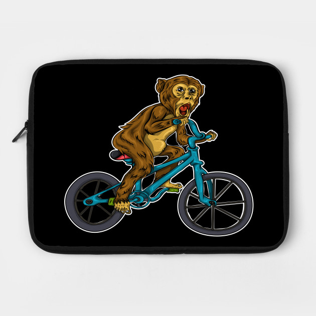 Monkey Cyclist Bicycle
