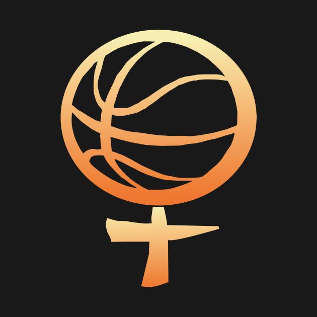 womens basketball symbol women tshirt teepublic