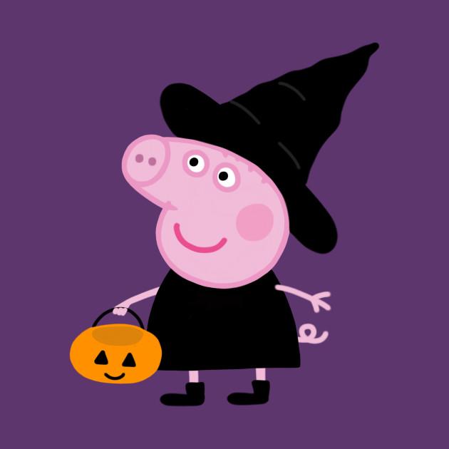 Peppa pig halloween - Peppa Pig - T-Shirt | TeePublic