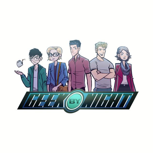 Geek By Night Logo