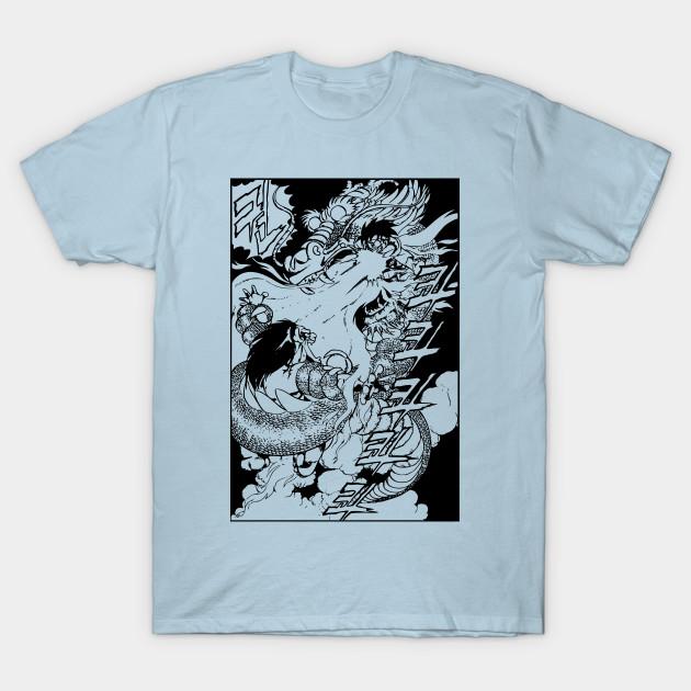 Street Fighter Ryu Vs Blanka Korean Manga Version Street Fighter T Shirt Teepublic