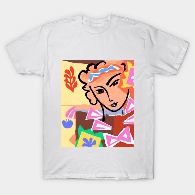 Denizko Art Colorful Woman