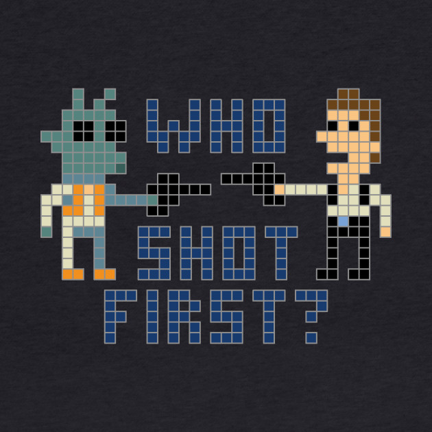 Who shot first?