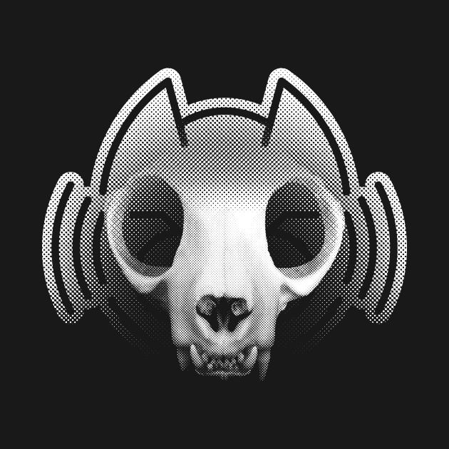 Death to Feral Audio - Cat Skull