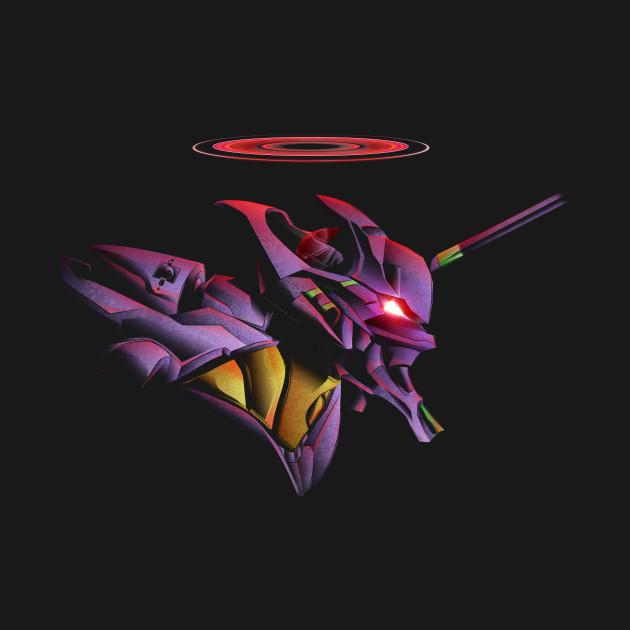 Evangelion Unit 01 Berserker Diety T-Shirt