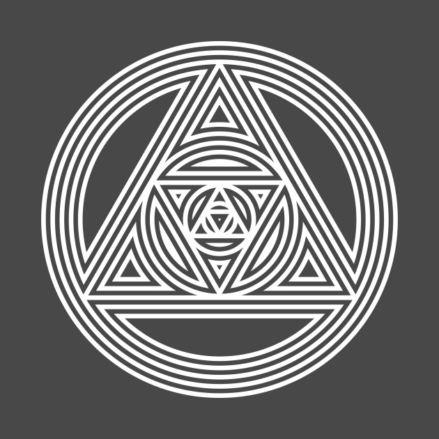 Interlocking Triangles - Awesome Sacred Geometry Design
