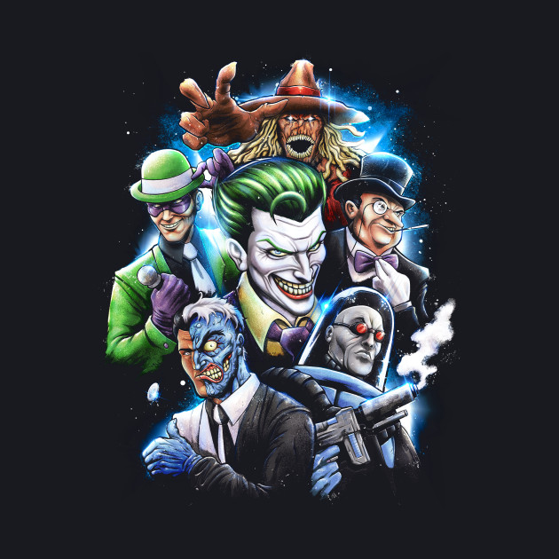 Gotham Rogues Gallery