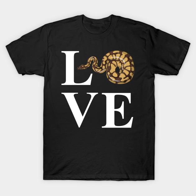 d6d702ed403e I Love Snakes - Snake - T-Shirt   TeePublic