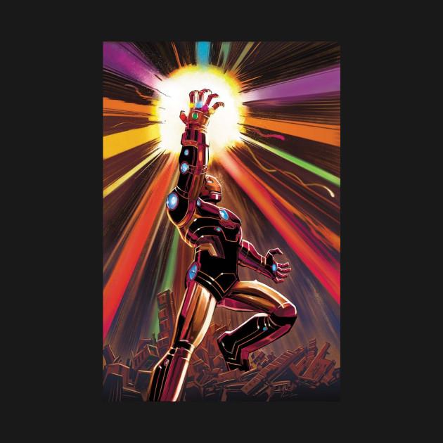 Iron Man Infinity Gauntlet - Marvel - Long Sleeve T-Shirt ...