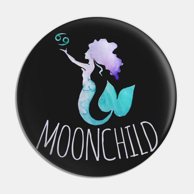 Moonchild cancer zodiac mermaid
