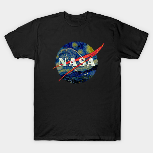 a076d769 Nasa Starry Night - Nasa - T-Shirt | TeePublic