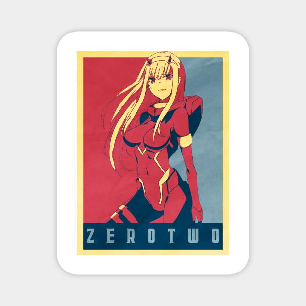Zero Two - Strelitzia | Darling in the Frankk