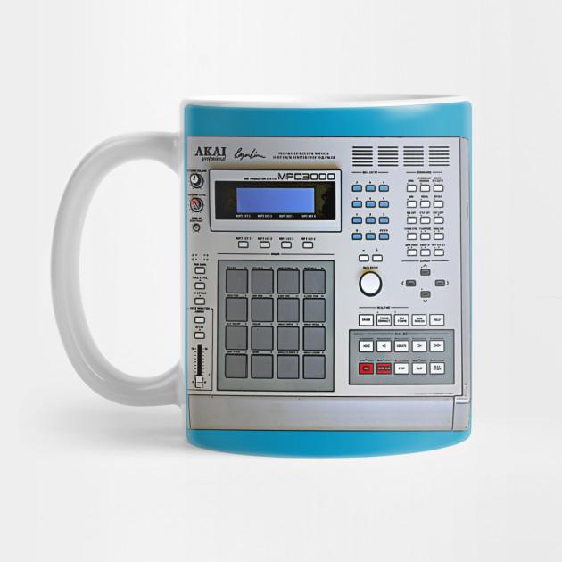 MPC 3000 Beat-Maker Tribute Design by dankfutura