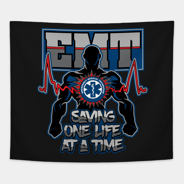 Emergency Medical Technician Saving Lives