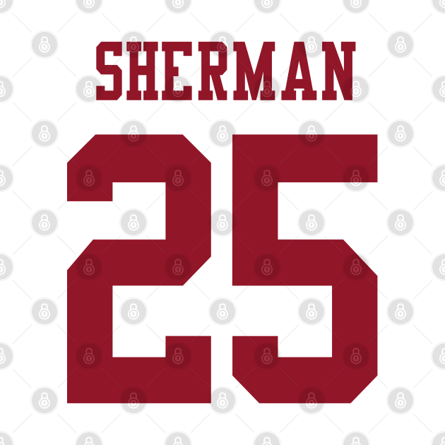 NFL Richard Sherman San Francisco 49ers Jersey