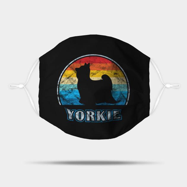 Yorkie Vintage Design Yorkshire Terrier Dog