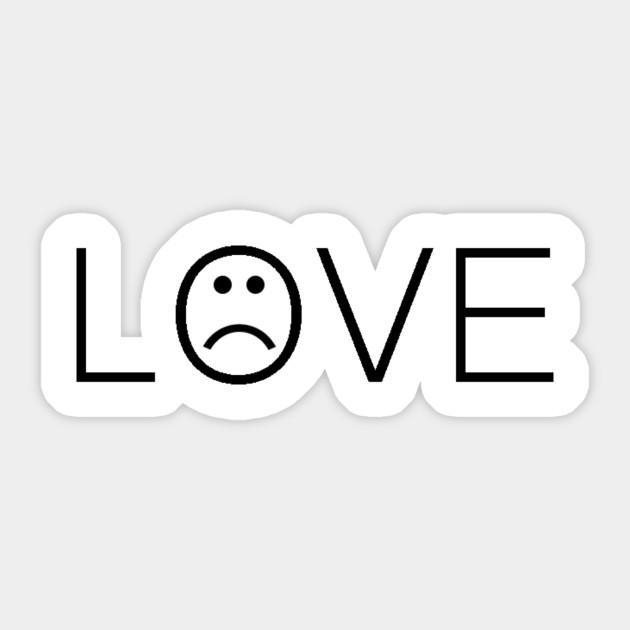 Love Lil Peep Sticker Teepublic