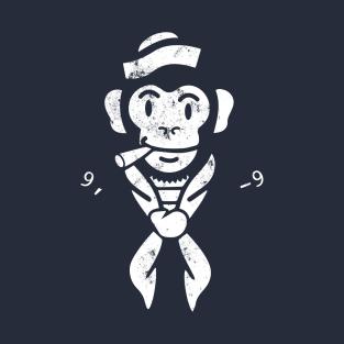 Sailor Monkey - White Faded