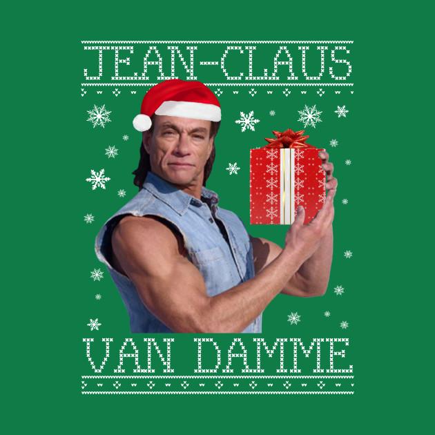 Jean Claus Van Damme Christmas Knit