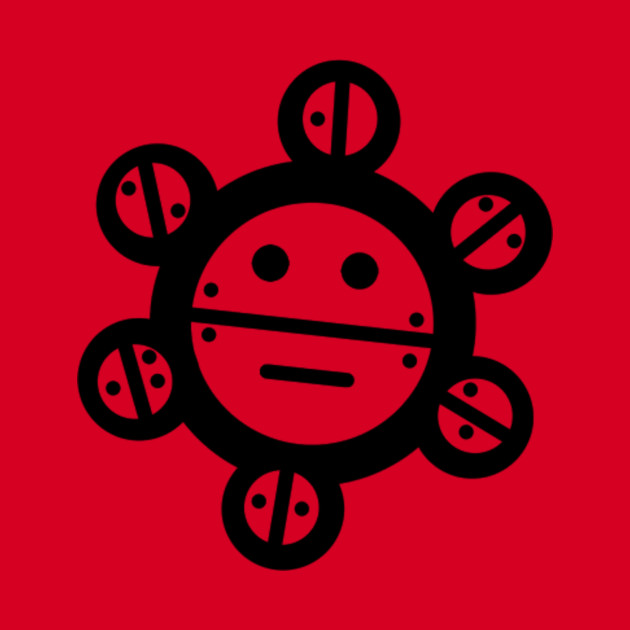 Simplistic Taino Sun Tattoo Pillow Teepublic