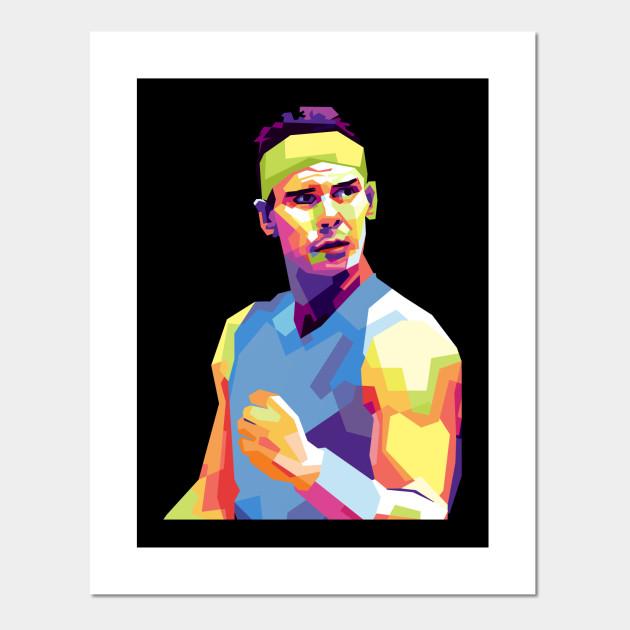 Rafael Nadal Roger Federer Posters And Art Prints Teepublic Au