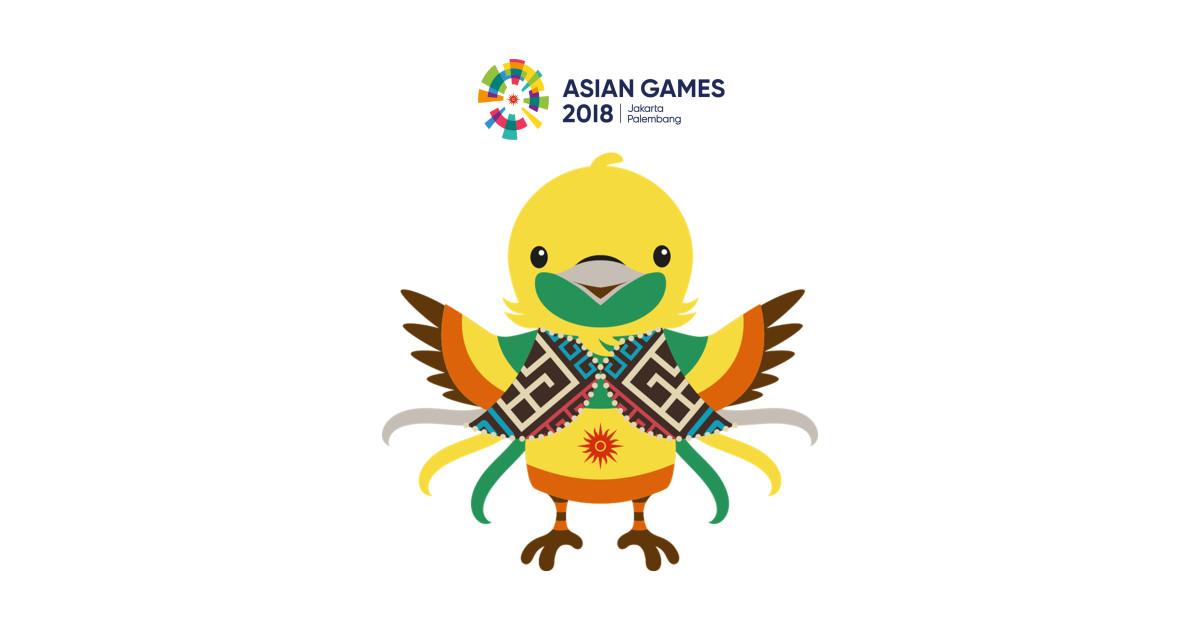 Maskot Asian Games  Bhin Bhin Sticker
