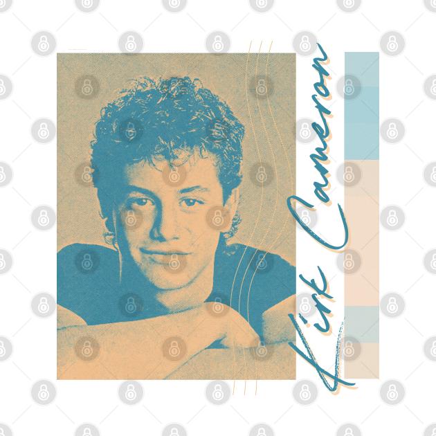 Kirk Cameron / / 80s Aesthetic Fan Art Design