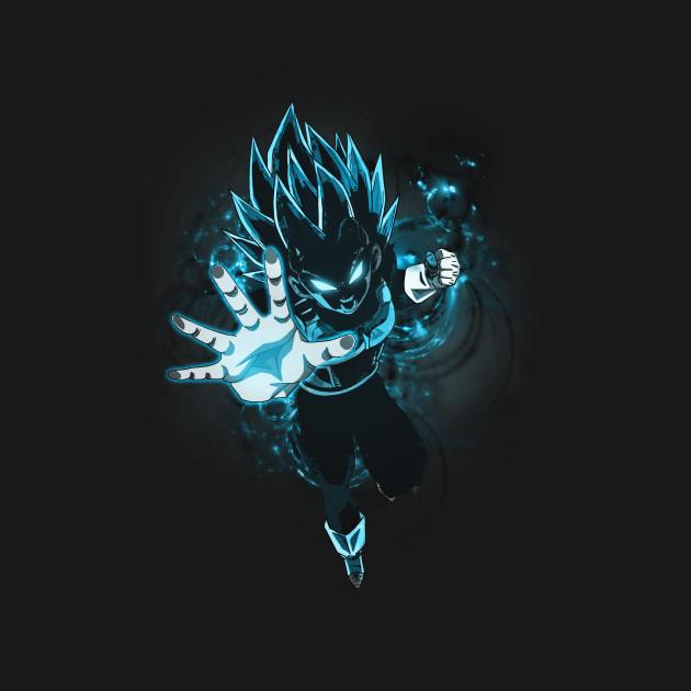 Dragon Ball Super Vegeta Super Saiyan Blue