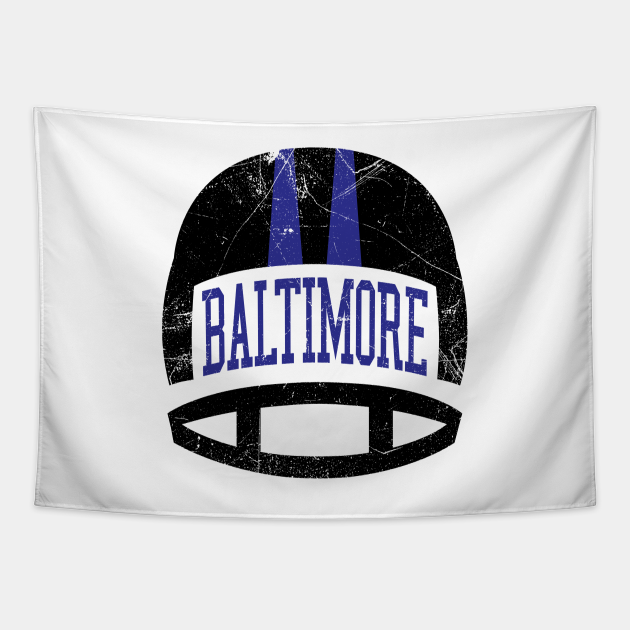 Baltimore Retro Helmet - White