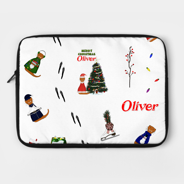 Oliver The Otter Christmas (Random Pattern)