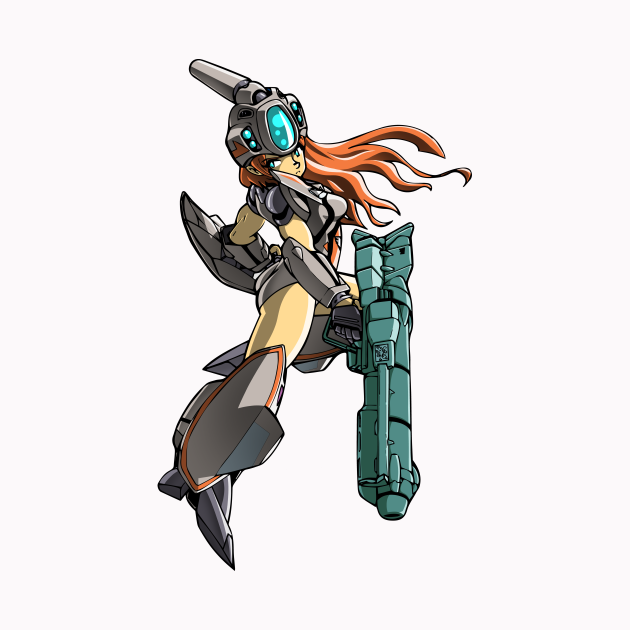 VF-11B Thunderbolt Girl