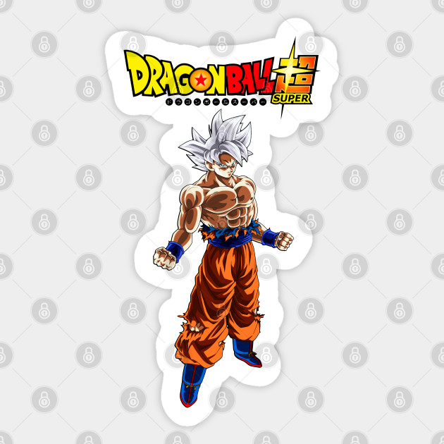 Dragon Ball Super Sticker Ultra Instinct Goku