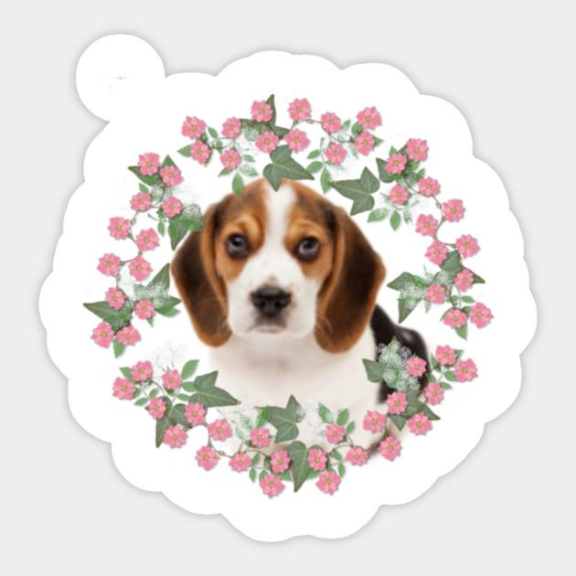 Beagle Pup Puppy Sticker Teepublic