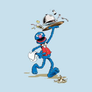 Vintage Grover the Waiter t-shirts