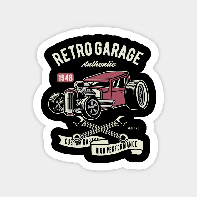Retro Garage Hotrod