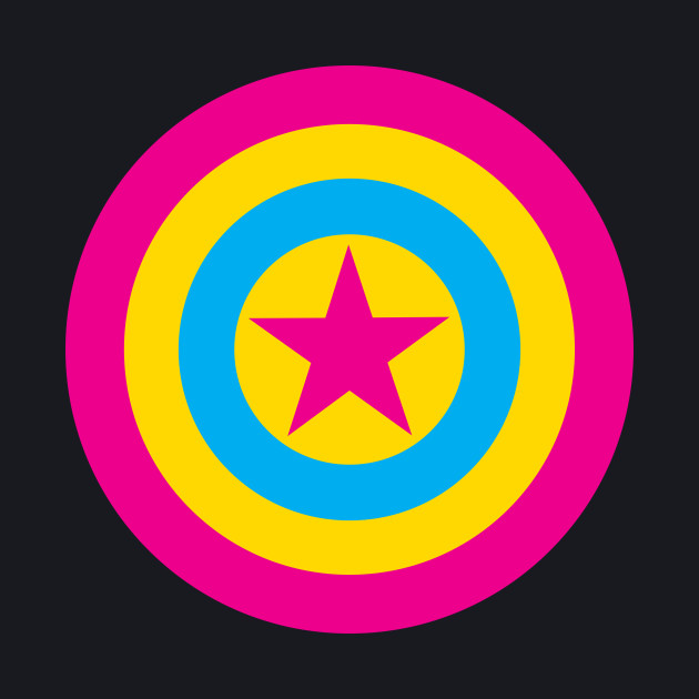 Pansexual Pride - Captain America