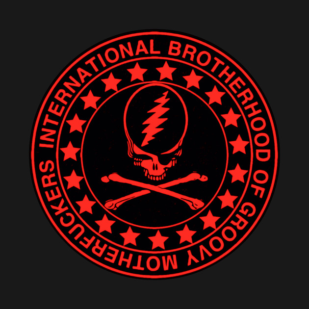 Brotherhood Crossbones red