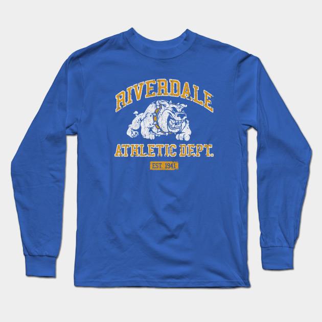 5c001d1dd Riverdale Athletic Department - Riverdale High - Camiseta Manga ...