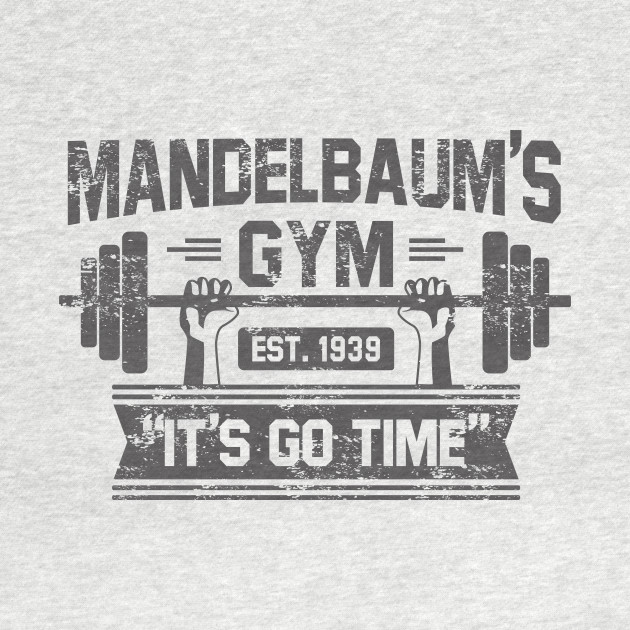 Mandelbaums Gym t shirt