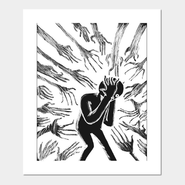 Anxiety Anxiety Posters And Art Prints Teepublic