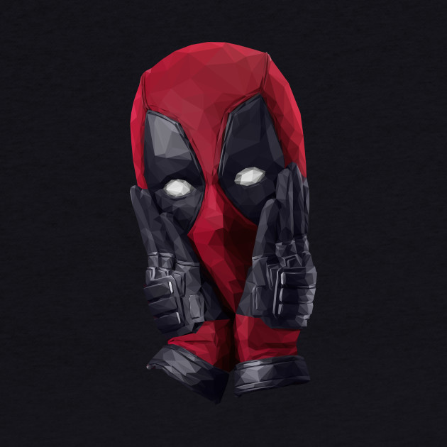 Deadpool (Low Poly)