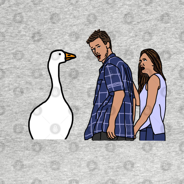Distracted Boyfriend Meme - Goose and Couple