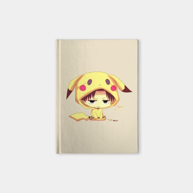 Levi Ackerman In Cute Pikachu Cosplay
